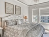 3rd Floor Master Suite - Furnished with a King Size Bed
