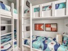 3rd Floor Bunk Room - Furnished with Two Twin over Queen Bunk Beds