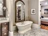 2nd Floor Master En Suite - Dual Vanities, Soaking Tub & Walk in Shower