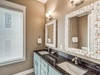 2nd Floor Master Suite - Equipped with a Dual Vanity