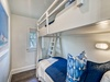 Loft Bunk Room - Furnished with a Twin over Twin Bunk Bed