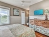 2nd Floor Master Suite - Equipped with a Large Flat Screen TV