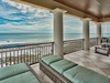 3rd Floor Balcony - Fit with Loungers for Two & a Porch Swing