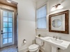 1st Floor Guest Bathroom - Supplied with a Walk In Shower Accessible from the Exterior