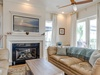 Living Room - Featuring a Gas Fireplace & Large Flat Screen TV