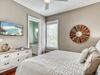 3rd Floor Master Suite - Equipped with a Large Flat Screen TV