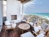 Beachfront Balcony - with Fireplace