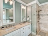 Master Ensuite - Featuring a Glass-enclosed Walk-in Shower & Dual Vanity