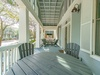 Front Porch - Furnished with Seating & Dining Area