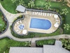 Aerial of the Pool Area