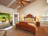 Lei Ohana Master Bedroom and Patio