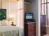 Mirrored Closet Doors - Watch TV in Bed