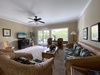 Comfortable Living Room open up to the Lanai