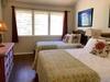Bedroom on Main Floor with Queen and Twin