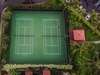 Drone Shot of the Tennis Courts