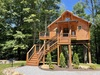 Cricket Hill Treehouse B Exterior View