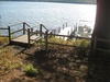steps and dock