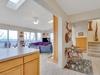 Kitchen and Living Room open floor plan