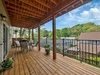 Your covered deck offers the perfect escape
