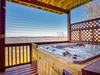 where you can soak in your private hot tub...
