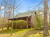 Hemlock is a beautiful log cabin