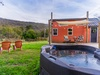 Enjoy the hot tub and views of Lookout Mountain