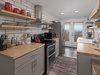 With a well equipped kitchen!