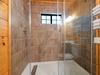 Granite tiled shower