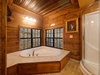 and jacuzzi tub.