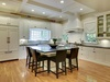 An incredible, open kitchen with plenty of space to cook, or be cooked for.