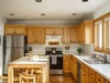Large kitchen for families who love to cook