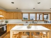 Easy entertaining in this spacious and functional kitchen