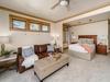 Upstairs: Master Bedroom with luxury sofa sleeper