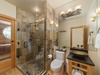 First Floor: Guest Bathroom with Sauna