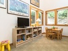 Oversized playroom and bunk room