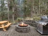 Gather around the firepit for fun and laughter