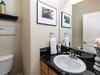 Top floor 1/2 bathroom