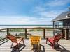 Sunny deck for enjoying the white sandy beach just across Ocean Rd.