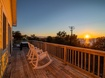 Sound and Sunset View from Deck