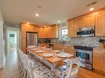 Top Level Kitchen and Dining Area