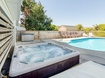 Hot Tub in Pool Area