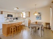 Top Level Kitchen and Dining Areas