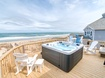 Top Level Oceanfront Deck with Hot Tub