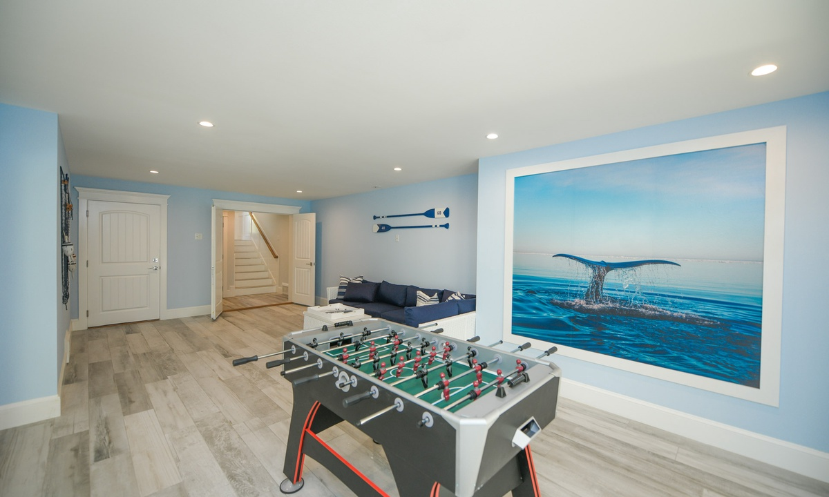 Foosball table, Anna Maria Beach House - AMI Locals