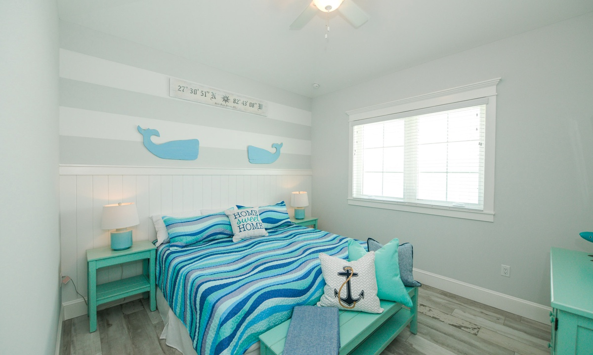 Bedroom 5, Anna Maria Beach House - AMI Locals