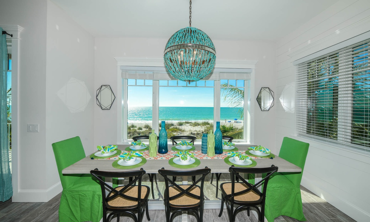 Dining Room, Beachfront Paradise - AMI Locals