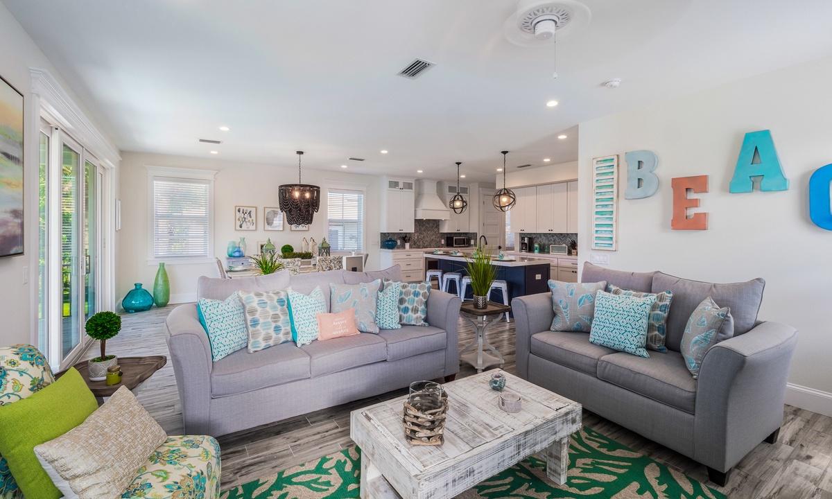 Living Room, Under the Sea - AMI Locals