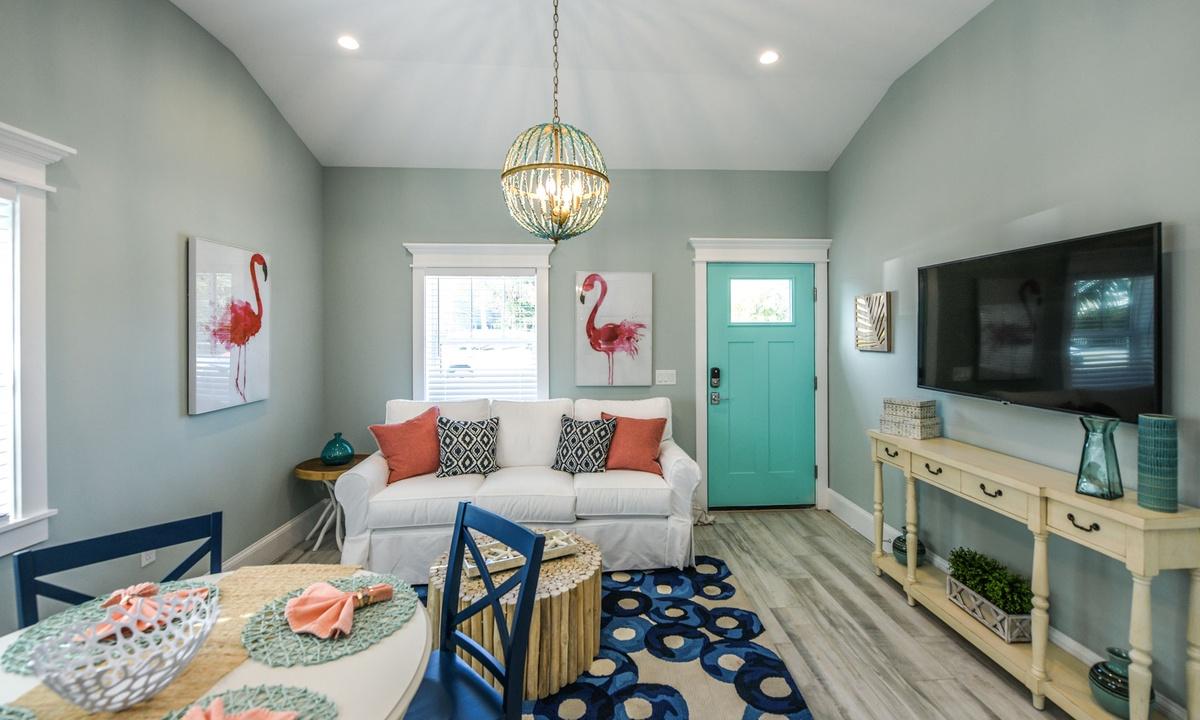 Living Room, Villa Seashell - AMI Locals