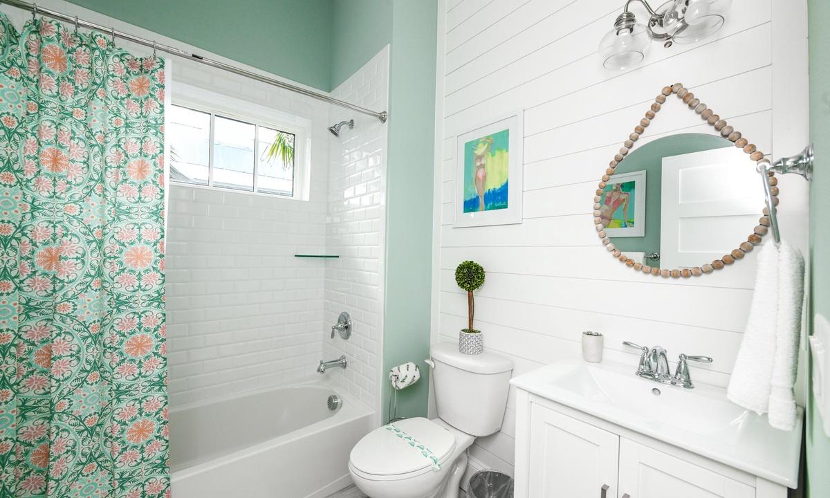 Bathroom, Villa Seashell - AMI Locals