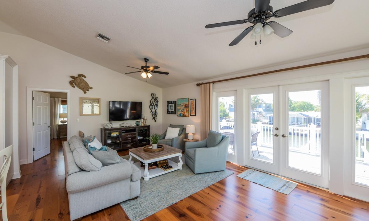 Living Room and Deck - Good Vibrations, AMI Locals